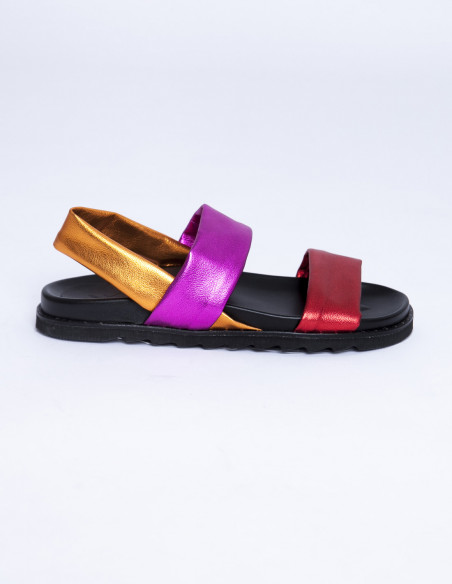 Sandalias multicolor sixty seven shoes sommes demode zaragoza