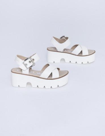 Sandalias blancas brusty coolway sommes demode zaragoza