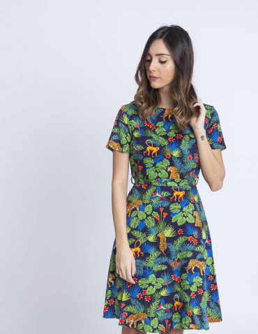 Vestido jungle o hara sugarhill brighton sommes demode zaragoza