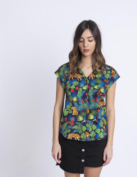 Camisa jungle sugarhill brighton sommes demode zaragoza