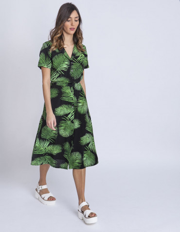 Vestido palmeras kendra sugarhill sommes demode zaragoza