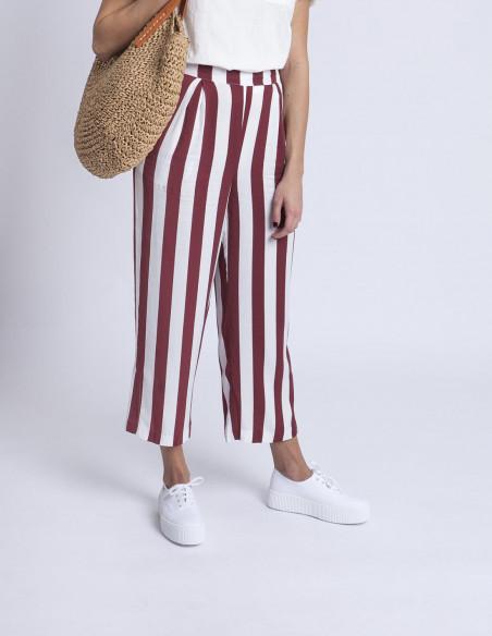 Pantalones rayas Ichi Sommes Demode
