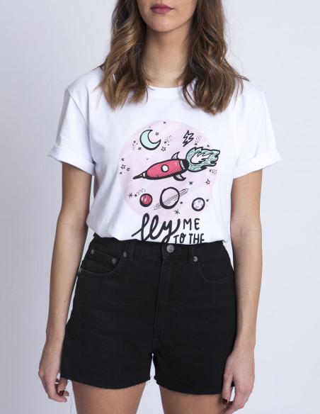 Camiseta Moon Sommes Demode