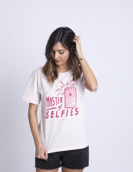Camiseta Selfies Sommes Demode