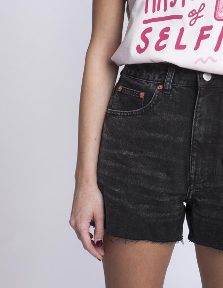 Shorts Donna Dust Black Cheap Monday Sommes Demode