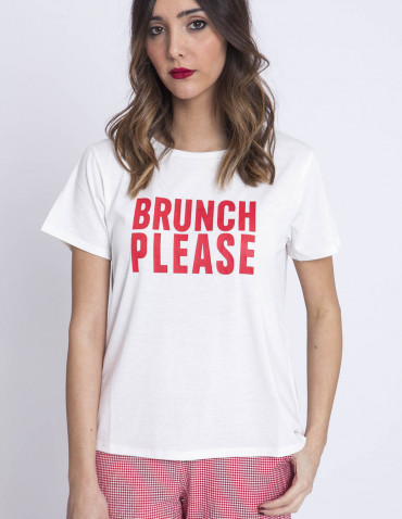 Camiseta Brunch Please Compañia fantastica sommes demode zaragoza