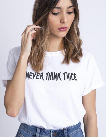 Camiseta never think twice rut and circle sommes demode zaragoza