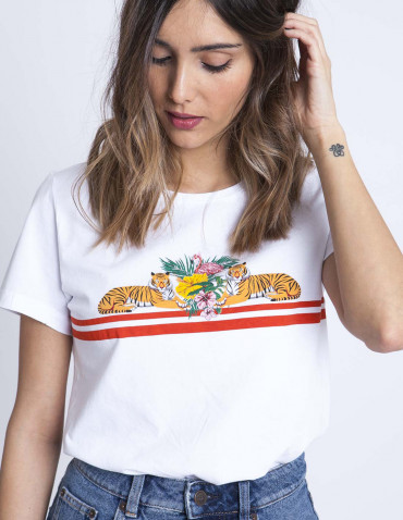 Camiseta tigres desires sommes demode zaragoza