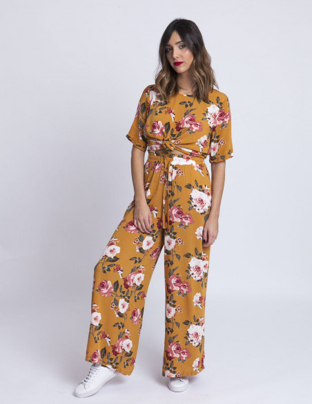 Pantalones flores blossom ichi sommes demode zaragoza
