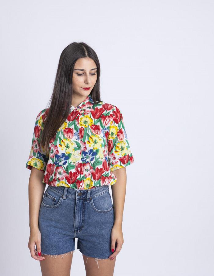 Camisa amapolas Compañia Fantastica Sommes Demode