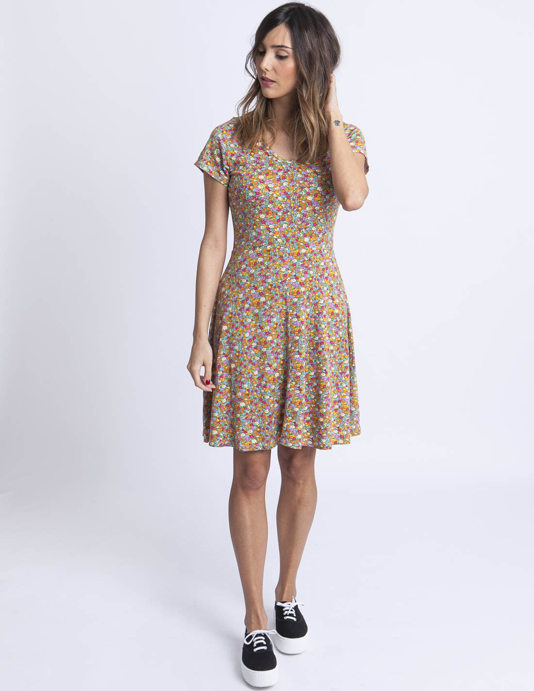 Comprar Vestido Flores Liberty Compañía Fantástica En Sommes Demode