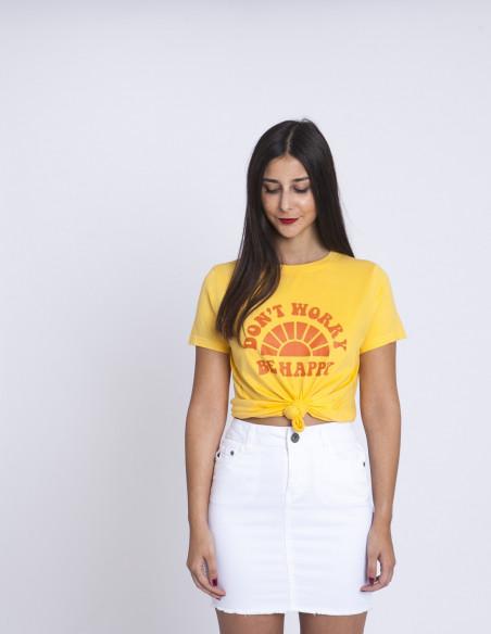 Falda denim blanco Desires Sommes Demode Zaragoza