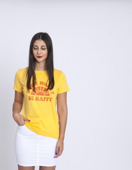 Camiseta Be Happy Sugarhill Brighton Sommes Demode Zaragoza