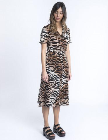 Vestido wild tiger sugarhill brighton sommes demode zaragoza