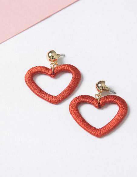 Pendientes Heart SkinnyDip London sommes demode zaragoza
