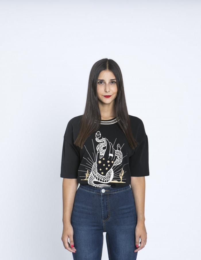 Camiseta Witch Maggie Sweet Zaragoza Sommes Demode