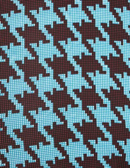 Falda Azul Pata de Gallo Compañía Fantástica Sommes Démodé Zaragoza