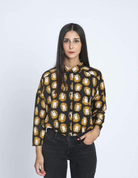 Camisa Leones Compañia Fantastica Sommes Demode Zaragoza