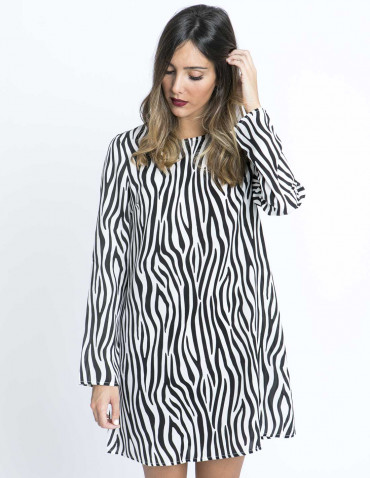 Vestido Zebra Glamorous Sommes Démodé Zaragoza