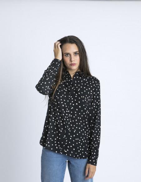 Camisa lunares Berta Desires Sommes Demode Zaragoza