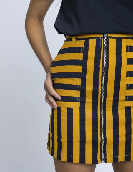 Falda rayas emanuelle frnch sommes demode zaragoza